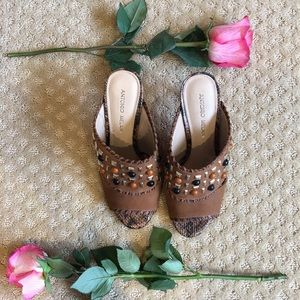 Cute, studded heels